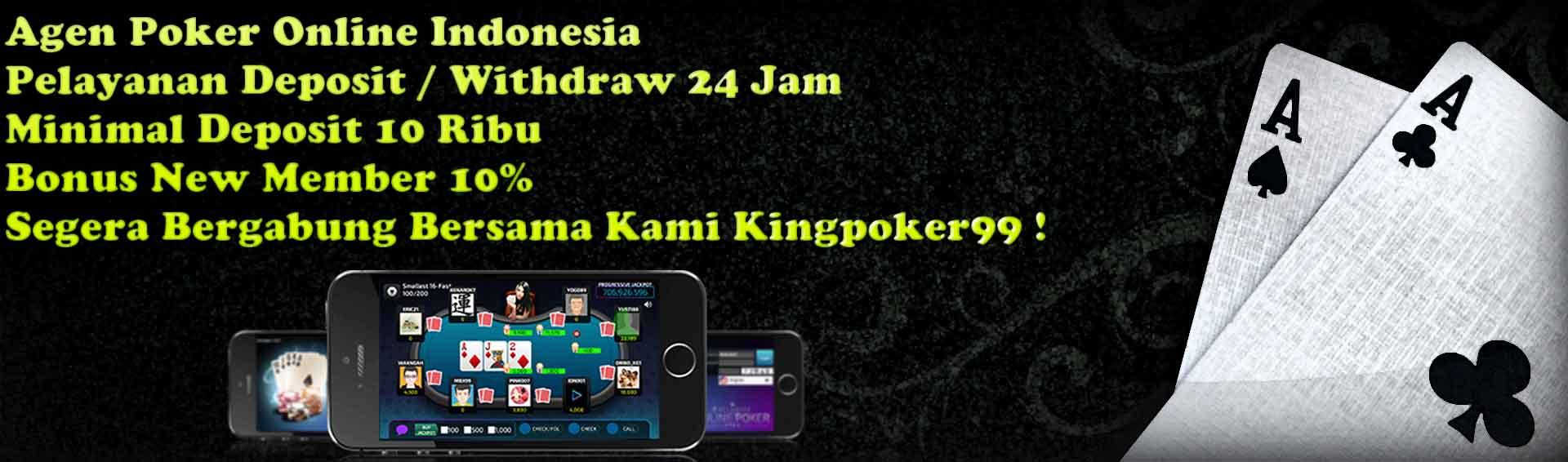 Agen Poker Online Indonesia Terbesar
