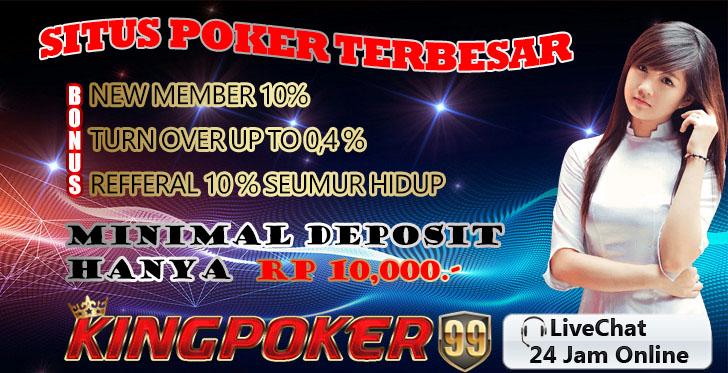 promo poker terbesar